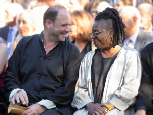 Barrett Wissman and Whoopi Goldberg