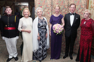 Cadet, Foundation Committee Member Heide Hüttl Canellopoulos, International Committee Member Gundel Dorrance, Their Royal Highnesses The Hereditary Prince and Princess Bernhard of Baden, and Foundation Director Gillian Spreckels Fuller